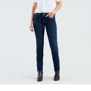 LEVI'S 712 Slim Jeans Dark Wash Size 30